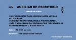 Escritório de Imobiliária Contrata Auxiliar Administrativo. Ensino Médio Completo